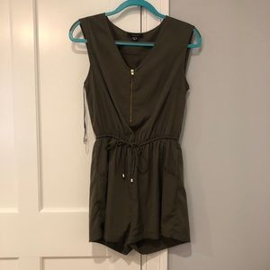 Pants - Olive green romper